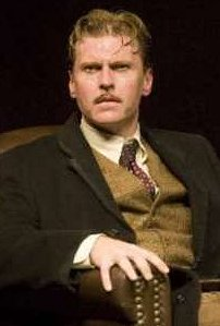 Ted Deasy in Seattle Repertory Theatre's production of THE 39 STEPS. (Photo by Craig Schwartz)