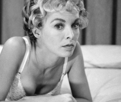 Janet Leigh in the film Psycho.