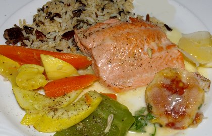 Steelhead dinner from The Lobster Shop South Tacoma - image.