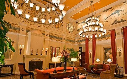 The Hotel Monaco lobby - photo.