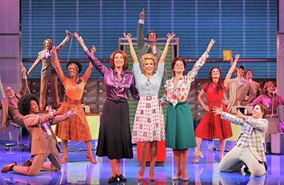 The big finale of 9 to 5 The Musical.