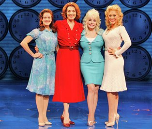 Mamie Parris, Dee Hoty, Dolly Parton, and Diana DeGarmo.