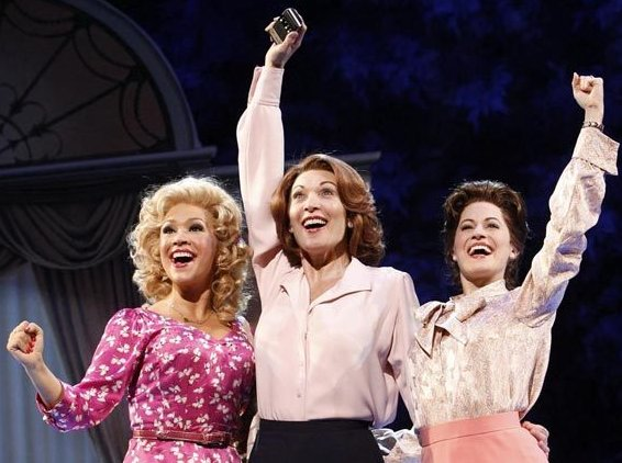 Diana DeGarmo, Dee Hoty, center, and Mamie Parris - photo.