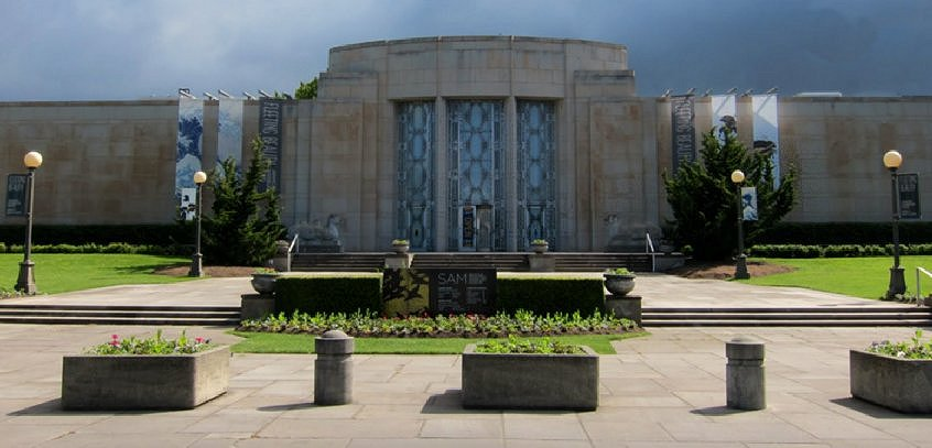 The Seattle Asian Art Museum in Volunteer Park - Seattle, Washington