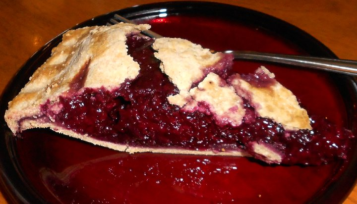Marionberry pie from the Antique Sandwich Company in Ruston  - image.