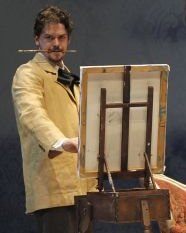 Dr. Givings (Jeff Cummings) invented an electrical machine to assuage this hysteria in women. -  - Photo by Chris Bennion