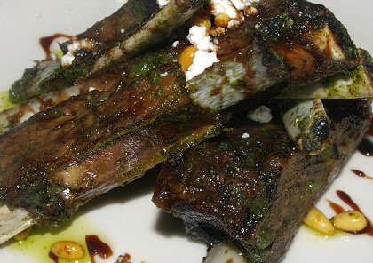 Crispy lamb ribblets - Adriatic Grill Review - image.