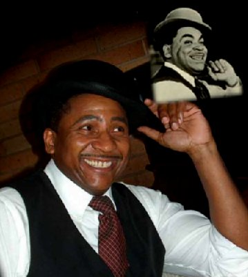 Bill Bland as Fats Waller.