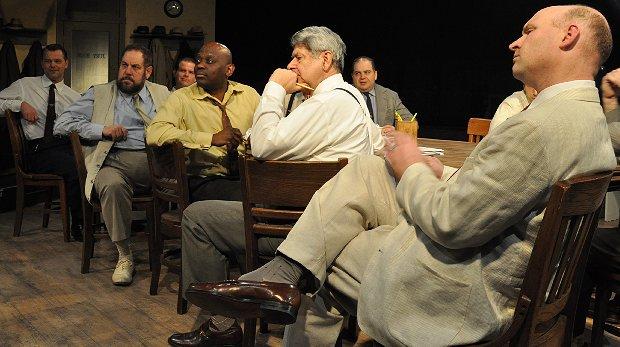 12 Angry Men at Lakewood Playhouse - Photo by KATE PATERNO-LICK.