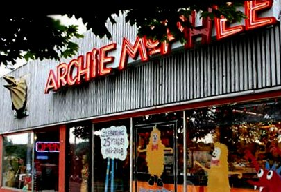 Archie McPhee novelty shopt in Seattle.
