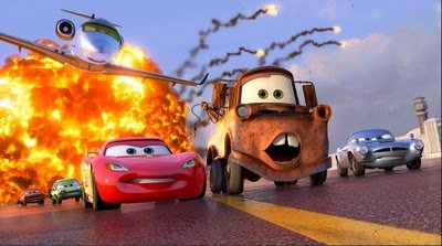 The animated film Cars 2.