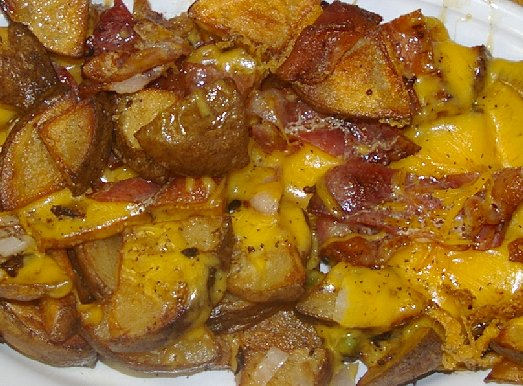 Upgrade of home fries at The Chili Parlor in Tacoma - image.