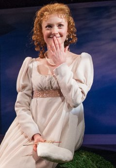 Sylvie Davidson as Emma; photo by Adam Smith - Book-It Theatre - image.