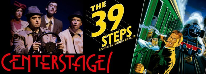 39 Steps - CenterStage Production Review, 39 steps, centerstage federal way, Washington WA.