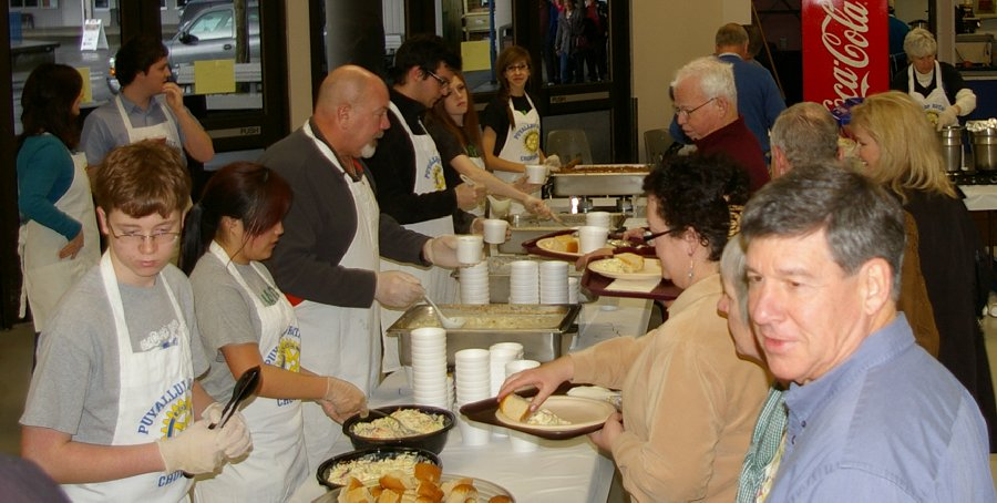 Puyallup Rotary Crab Feed Fundraiser - photo.
