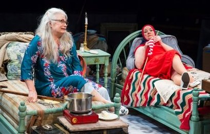 A scene from Grey Gardens at ACT Theatre in Seattle.