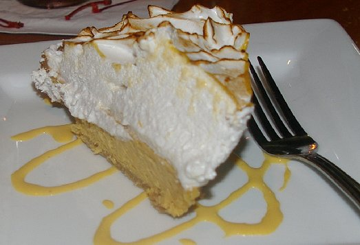 Pumpkin layered cheesecake from Shenanigans Restaurant on Ruston Way in Tacoma - image.