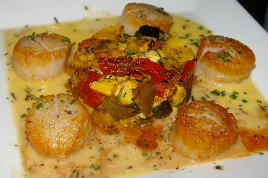 Large Scallops from Shenanigans Restaurant on Ruston Way in Tacoma - image.