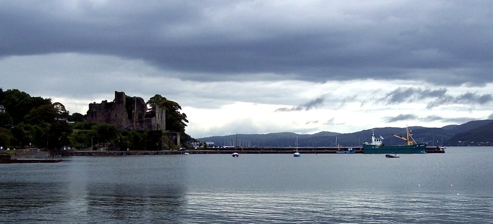 King John's Carlingford Castle in Ireland - image