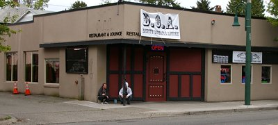 Dirty Oscar's Annex bar on 6th Avenue in Tacoma, Washington.
