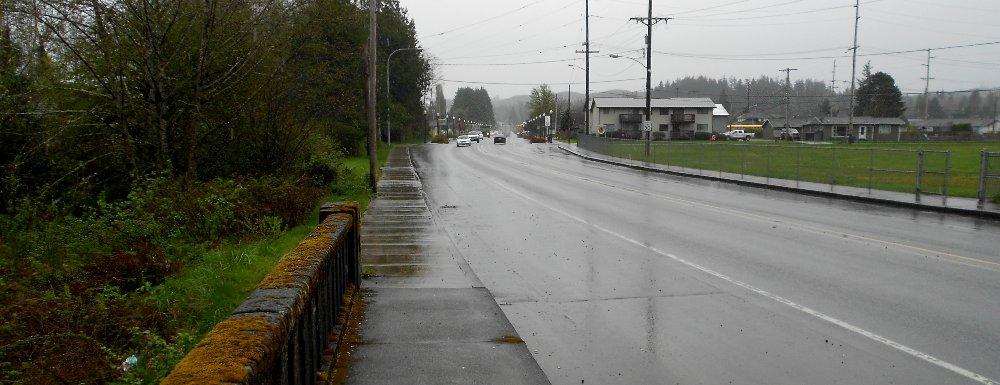 The town of Cosmopolis in Southwest Washington - image.