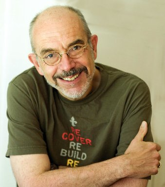 Author, Wally Lamb.