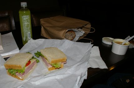 A nice deli meal on a Monday evening in Seattle - image.
