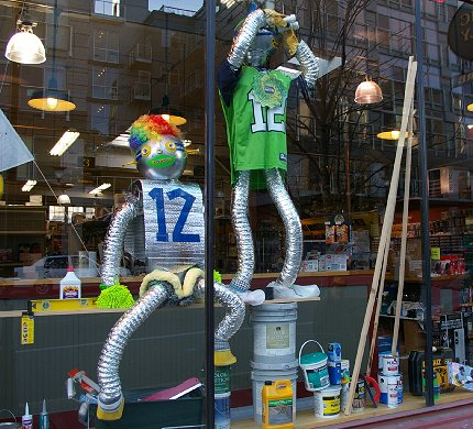 12th man at Pacific Supply and Hardware Seattle - image.