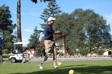 Jay Buhner at the 2009 fundraising golf tournament.