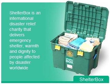 ShelterBox packed and ready to go from Tacoma, Washington.