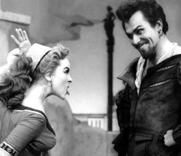 Howard Keel in Kiss Me Kate with Kathryn Grayson - photo.