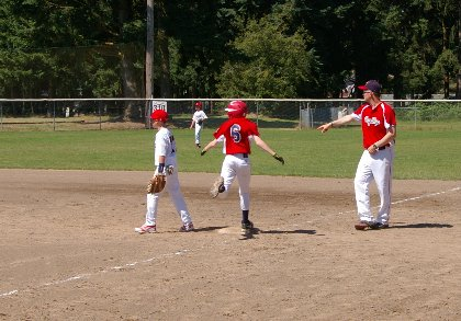 Baseball tournament in Lacey, Washington