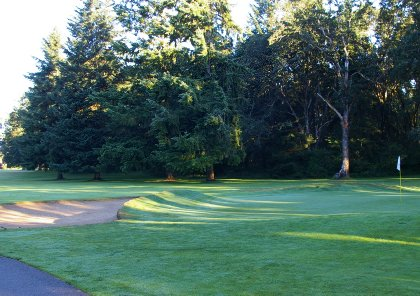 The Ft. Lewis Golf Course near DuPont, Washington.