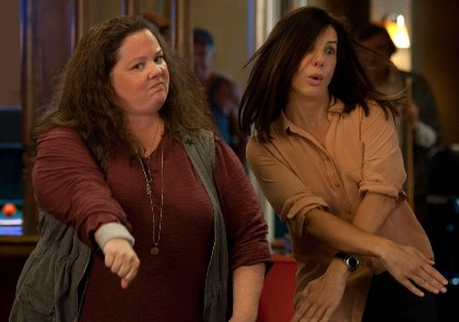 The feature film The Heat starring Sandra Bullock and Melissa McCarthy.