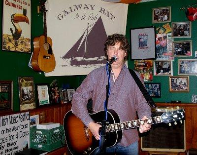 Cronin Tierney performing at the Galway Bay - Ocean Shores Washington Adventure.