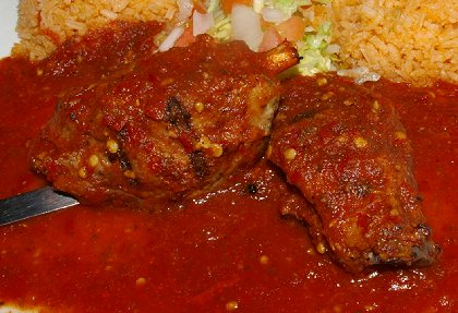Puerco Asado from Las Brisas in Edmonds, Washington - image.