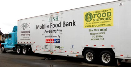 Emergency food network transportation club holiday auction for Fish food bank tacoma