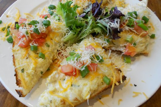 The Crab Artichoke Cheese Melt at Farrelli Pizza at Point Ruston - image.