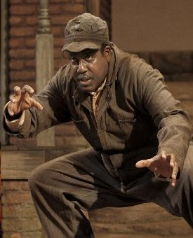 James A. Williams as Troy Maxson in Fences. Photo by Chris Bennion.