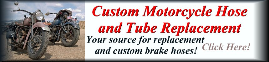 Custom Motorcycle Hose and Tube Replacement Repair Tacoma Seattle