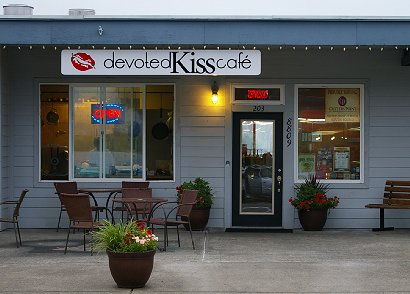 The Devoted Kiss Cafe in Gig Harbor, Washington.