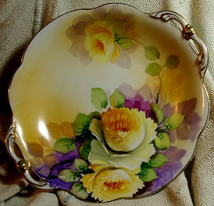 Antique Plate bought in Puyallup, Washington.