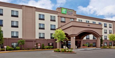 The Holiday Inn Express on South Hill in Puyallup, Washington.