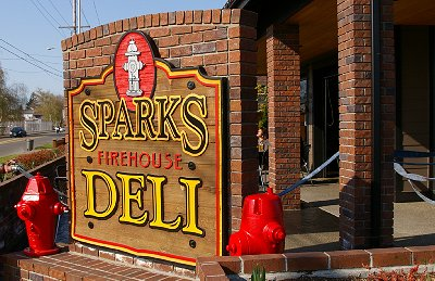 The Sparks Firehouse Deli in Puyallup, Washington.
