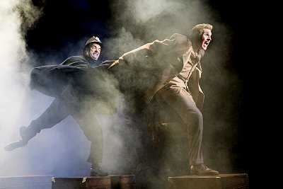 The 39 Steps at Seattle Rep