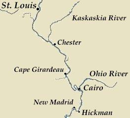 Huck Finn Travel Map | lifehacked1st.com