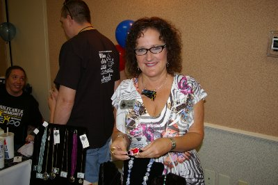 Carolyn Osborne of Creative Force at the JBLM Small Business EXPO Tacoma, washington.