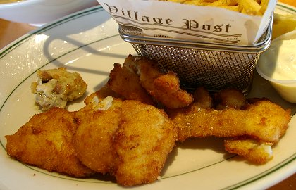 Cod and Chips at Johnnys Bistro in Tacoma, Washington - image.