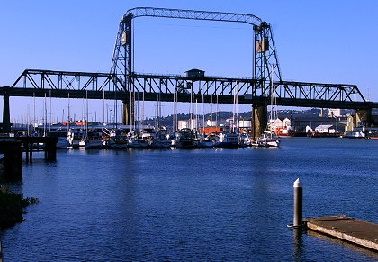 The Murray Morgan Bridge in Tacoma, Washington - image.
