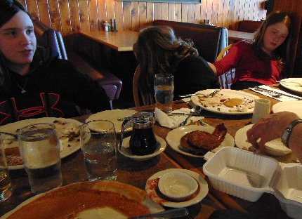 A full crew at the Original Pancake House on Southhill in Puyallup, Washington.